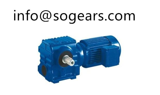 RV series worm gear motor