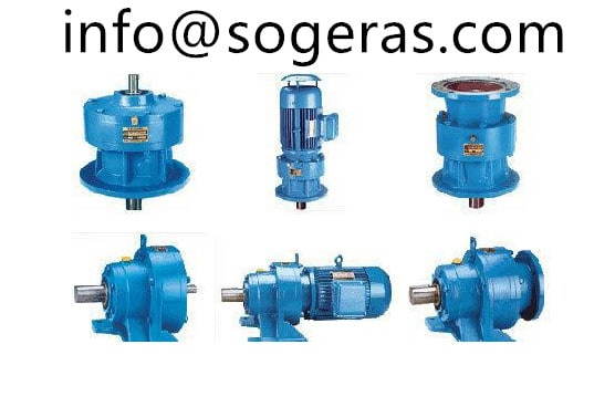 Cycloidal speed reduction gearbox