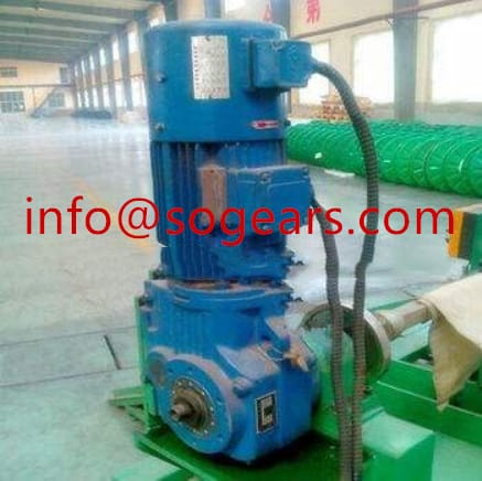 vertical shaft cyclo gearbox with motor