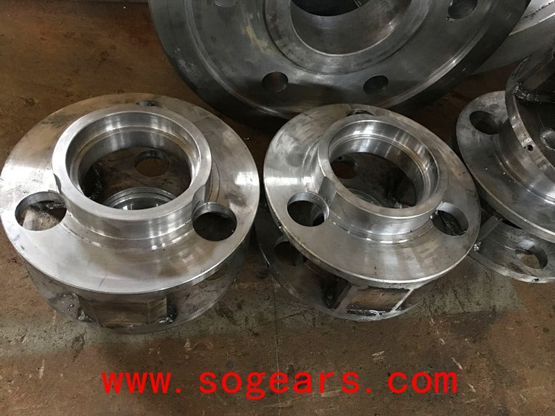 Planetary Gearbox Spare parts from the head.