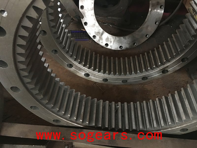 Planetary Gearbox Inside parts steel geared ring