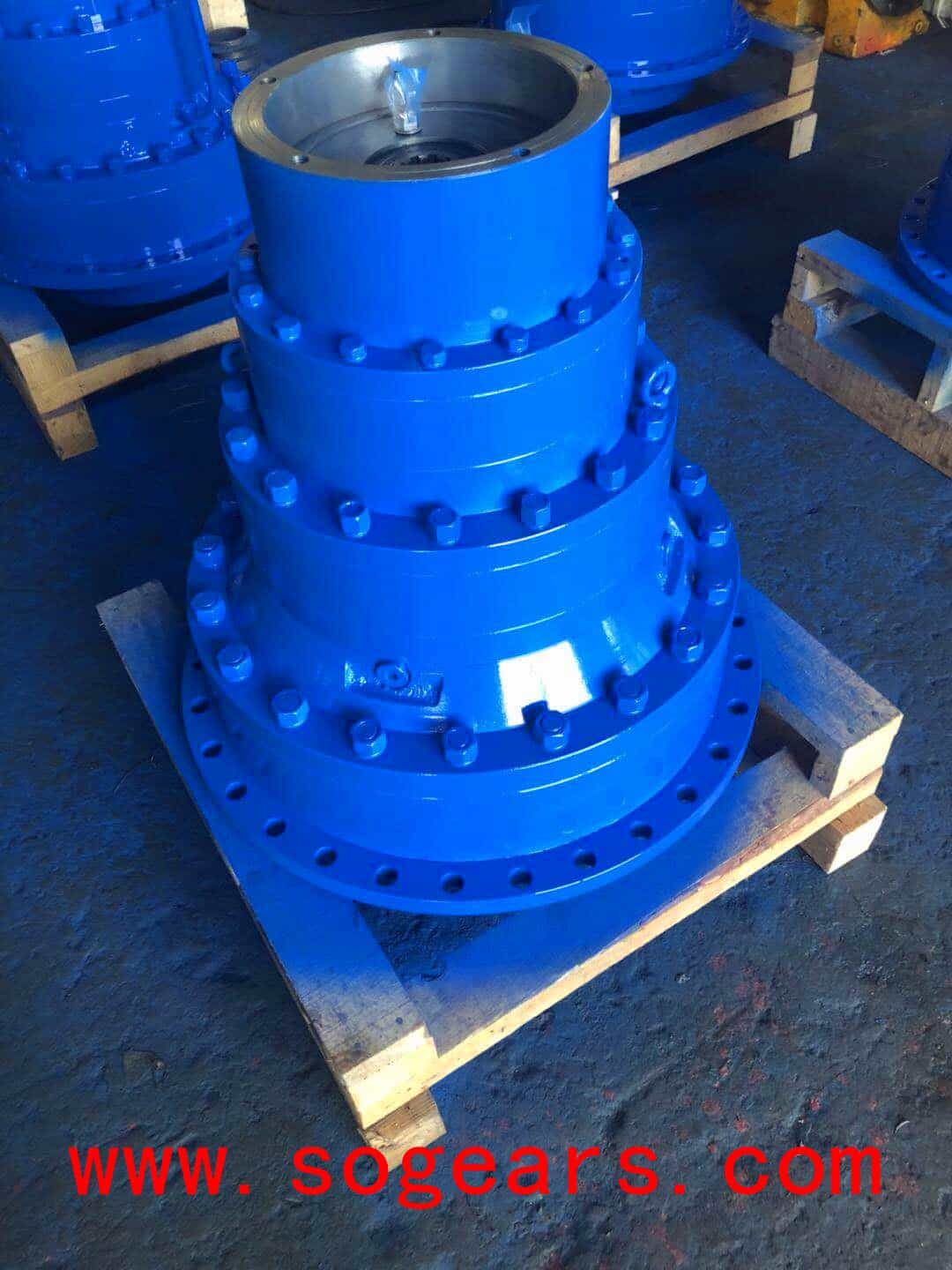 Planetary Gearboxes ready to export to Chile.