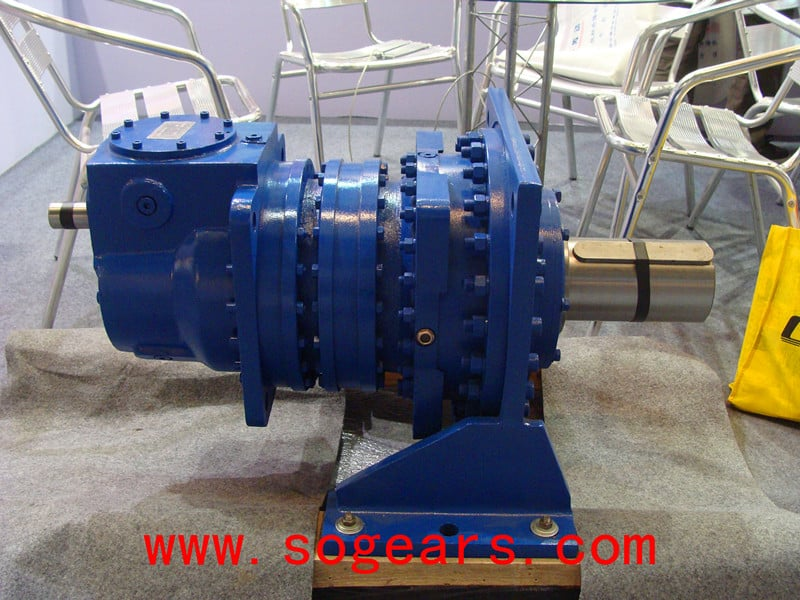 Planetary Gearbox with more stages