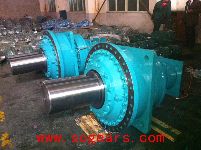 planetary-gear reducer
