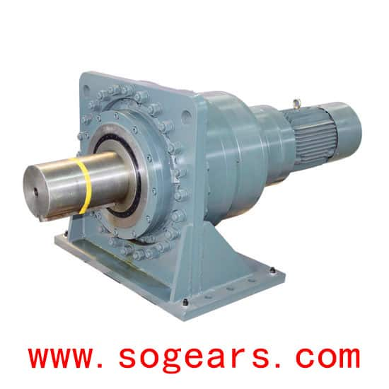 Planetary Gearbox horizontal type with motor