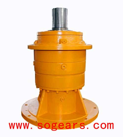Planetary Gearbox Vertical way with flange