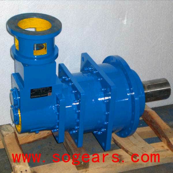 Planetary Gearbox in right angle mounting