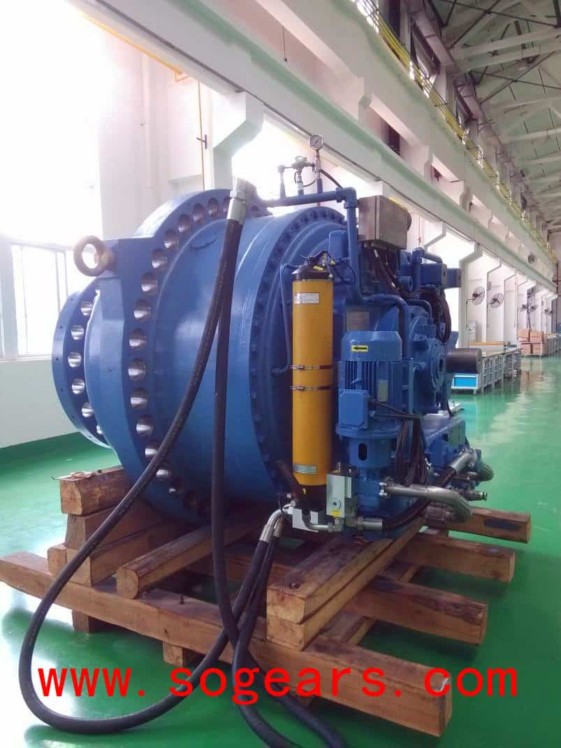 Planetary Gearbox lubricating system