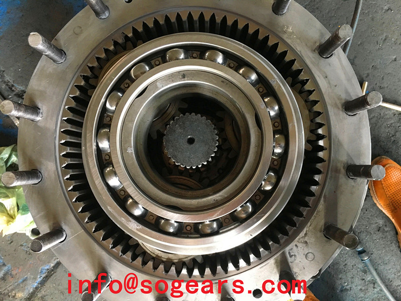 Planetary Gearbox inside  construction